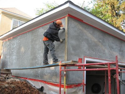 Straightening The Wall Using Screeds