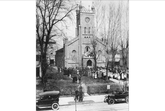 Christ Church in the 1920's