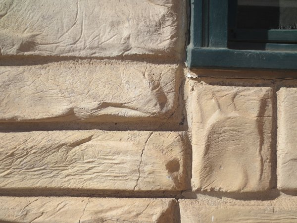 Permastone and simulated stone stucco.