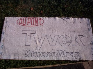 Stucco wrap